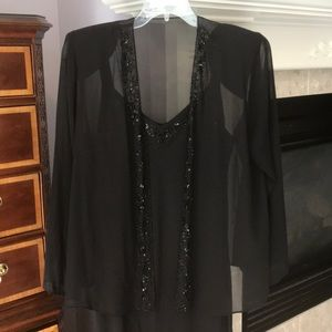 Black XSCAPE dress